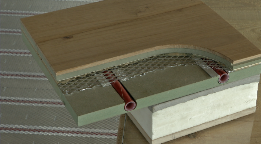 chauffage sol la maison de l 39 mission. Black Bedroom Furniture Sets. Home Design Ideas