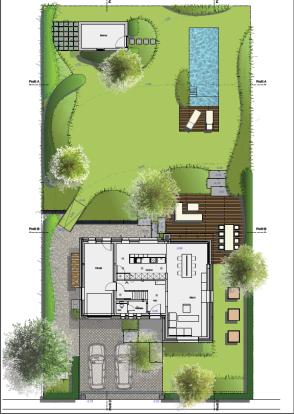 Plans aménagement extérieurs